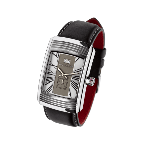 Watch Energie Vitale, stainless steel, quartz movement, leather strap