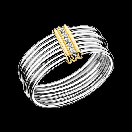 Ring Les 7 péchés de Toi, white gold, diamonds