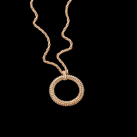 Le premier jour Necklace, pink gold