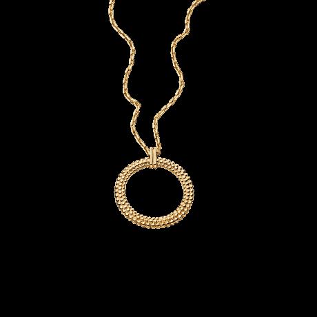 Le premier jour Necklace, yellow gold