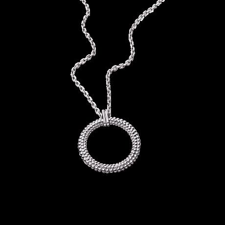 Le premier jour Necklace, white gold