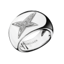 Ring Divine Cocotte N2, white gold and diamonds