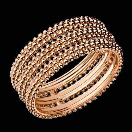 Ring Le Premier Jour, pink gold