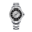 Watch L'Heure de Paix, big model, automatic, steel bracelet