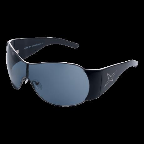 SUN 1 (Sunglasses, acetate, gun black)