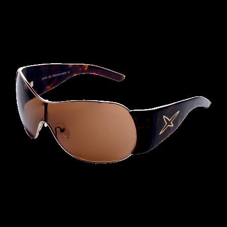 SUN 1 (Sunglasses, acetate, golden scale)