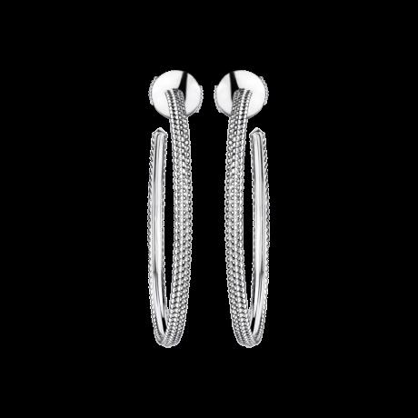 Le Premier Jour Earrings , White gold
