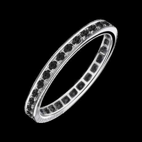 Diam's Sex & Love wedding band, diamonds, white gold