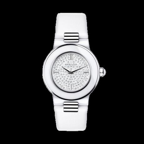 Amour le Jour timepiece, diamonds