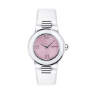 Amour le Jour timepiece, pink dial