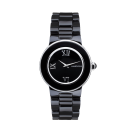 Amour la Nuit watch, in black ceramic