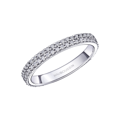 Parce que tu es Sublime, white gold, diamonds