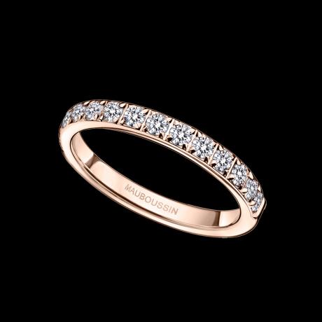 Parce que c'est Toi, pink gold, diamonds