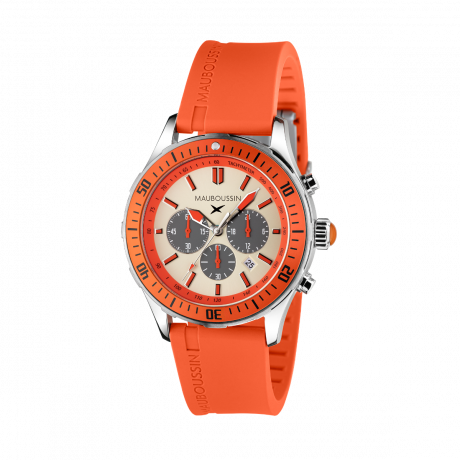 Bande d'Arrêt d'Urgence orange chronograph