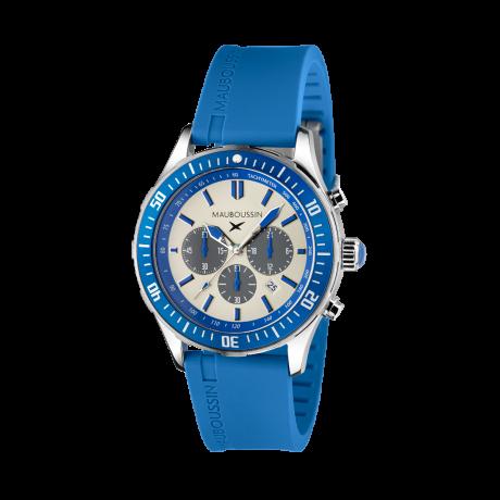 Bande d'Arrêt d'Urgence blue chronograph