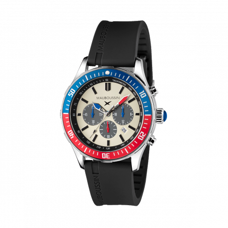 Bande d'Arrêt d'Urgence black chronograph