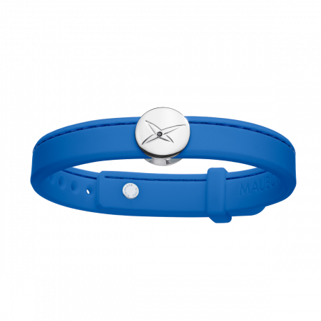 Leonard and Suzan of the Valley blue bracelet, silver