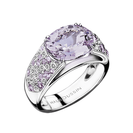 Rose De France Is An Iconic Gemstone For Mauboussin With