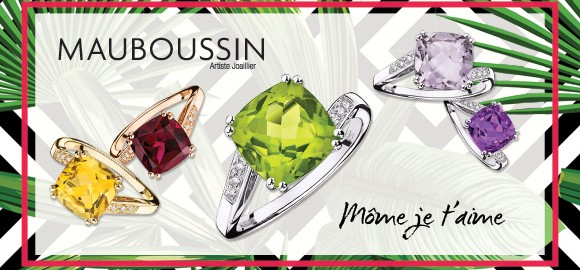 Special offer on Mome je t'aime rings, by Mauboussin in