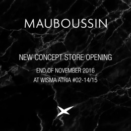 Mauboussin flagship store opening at Wisma Atria!