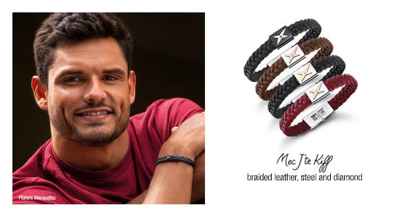 """""""Mec, J'te Kiff"""" bracelet"""